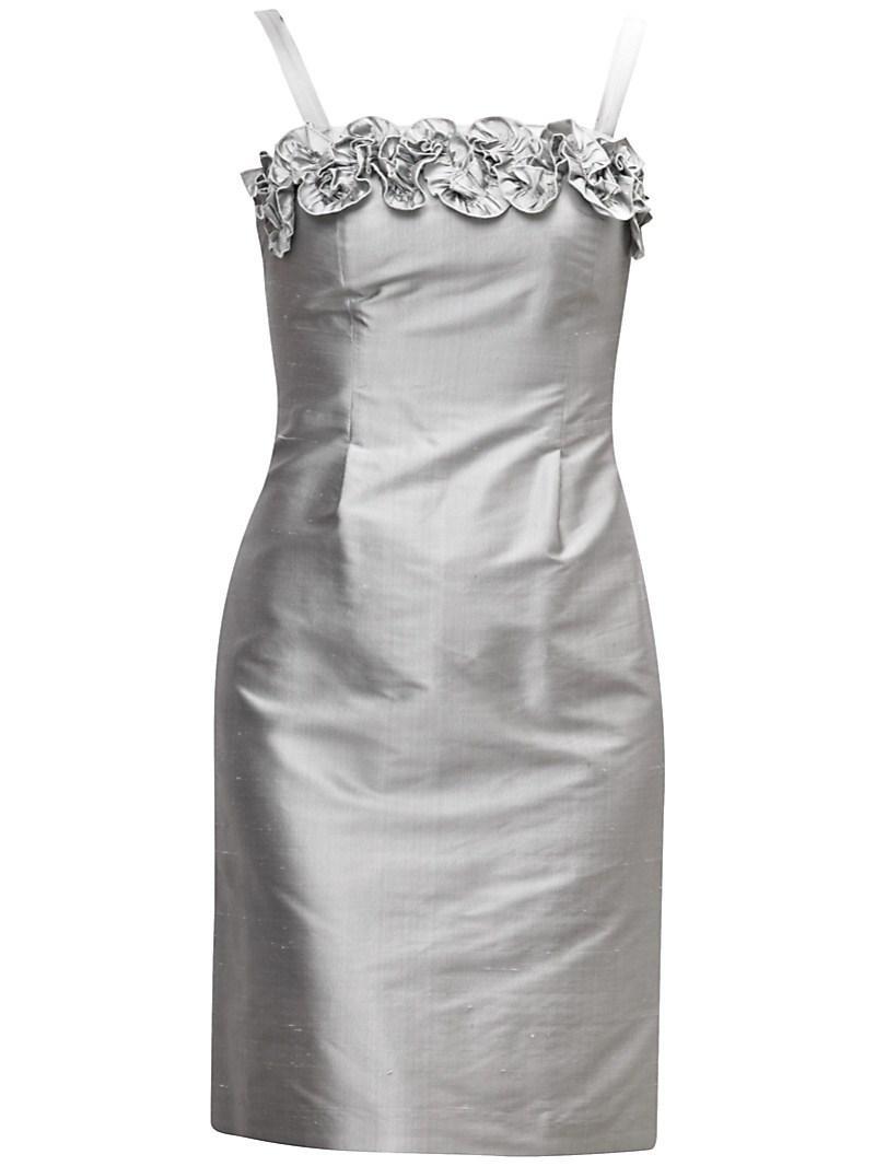 srebrna sukienka Gapa Fashion - moda 2011