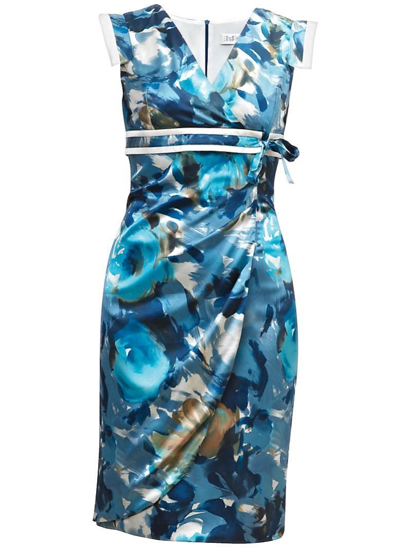niebieska sukienka Gapa Fashion w kwiaty - wiosna/lato 2011
