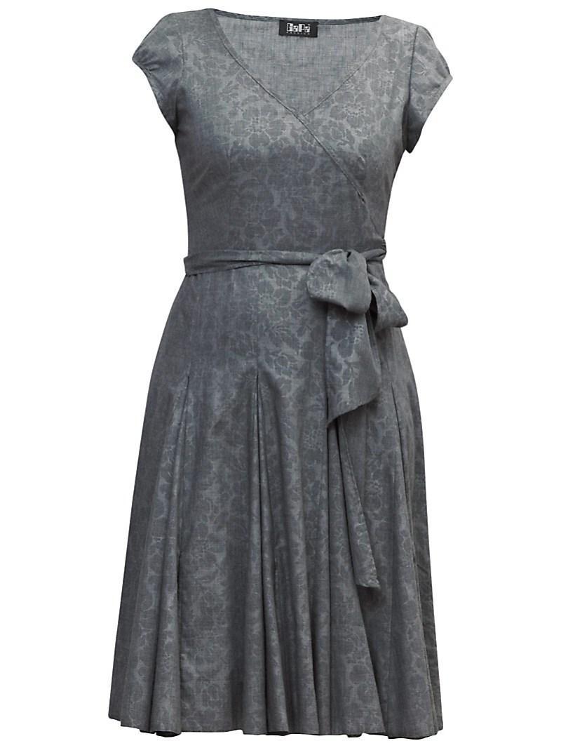 popielata sukienka Gapa Fashion - wiosna/lato 2011