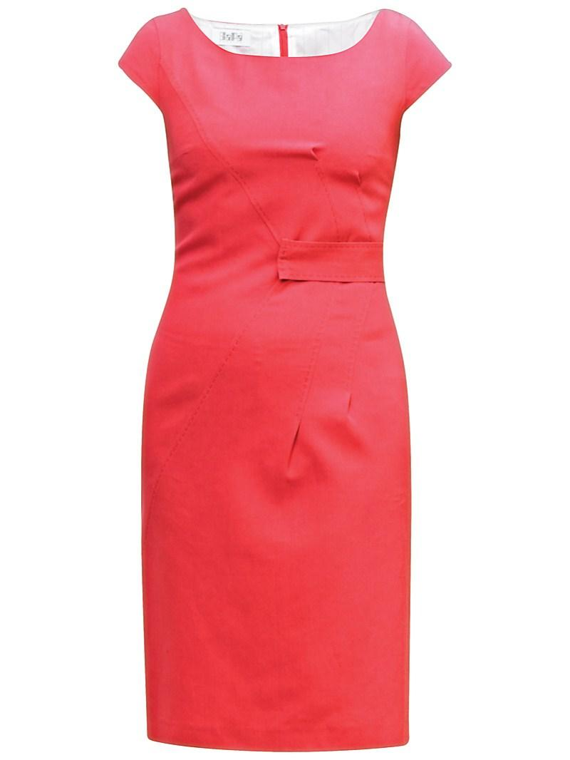 czerwona sukienka Gapa Fashion - moda 2011