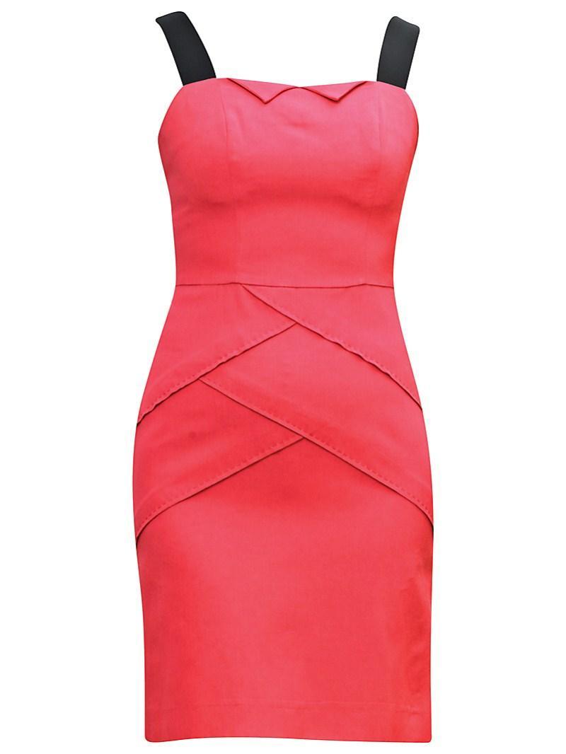 czerwona sukienka Gapa Fashion - wiosna/lato 2011