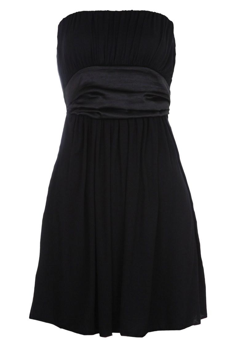 czarna sukienka Tally Weijl - wiosna-lato 2011