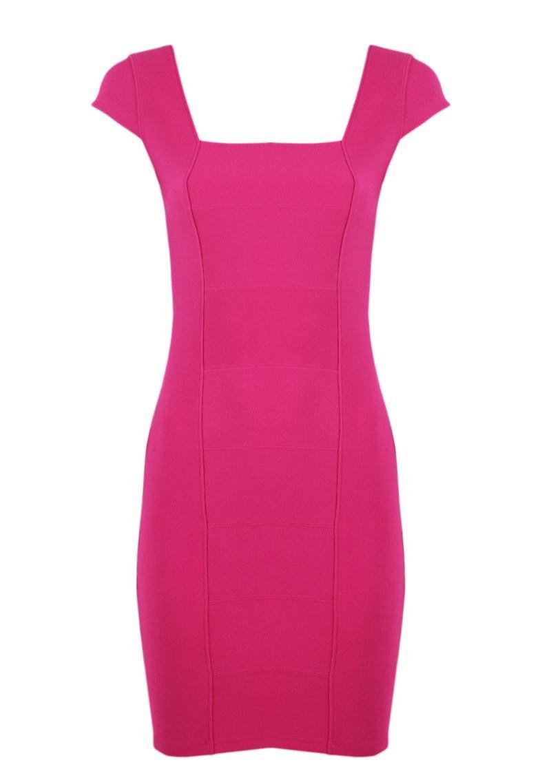 różowa sukienka Tally Weijl - wiosna/lato 2011