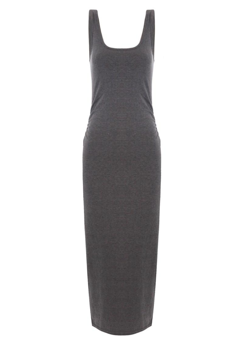 czarna sukienka Tally Weijl długa - letnia kolekcja