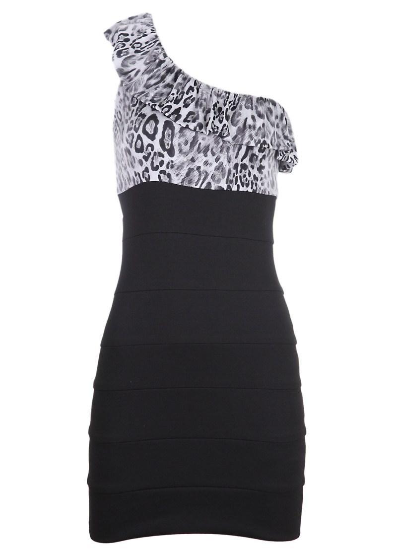 czarna sukienka Tally Weijl - wiosna/lato 2011