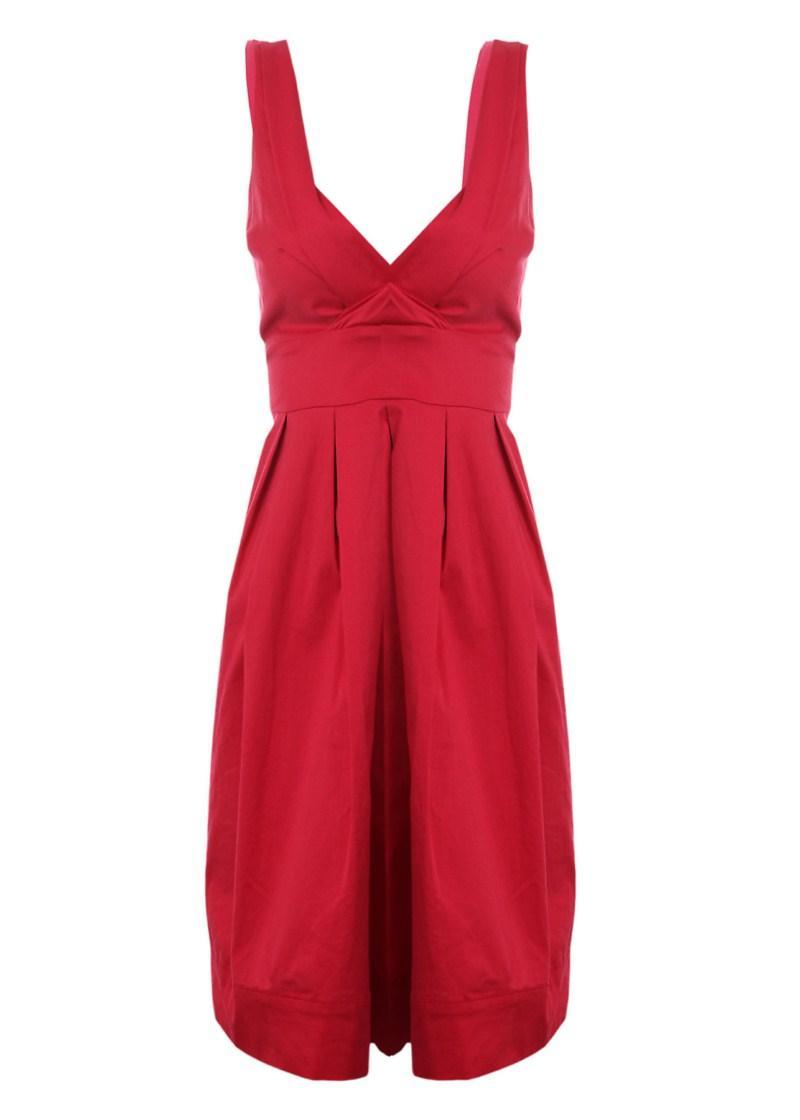 czerwona sukienka Tally Weijl - wiosna/lato 2011