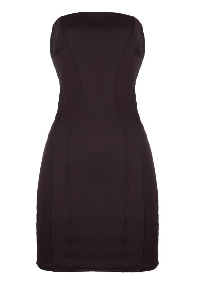 czarna sukienka Tally Weijl - sezon wiosenno-letni