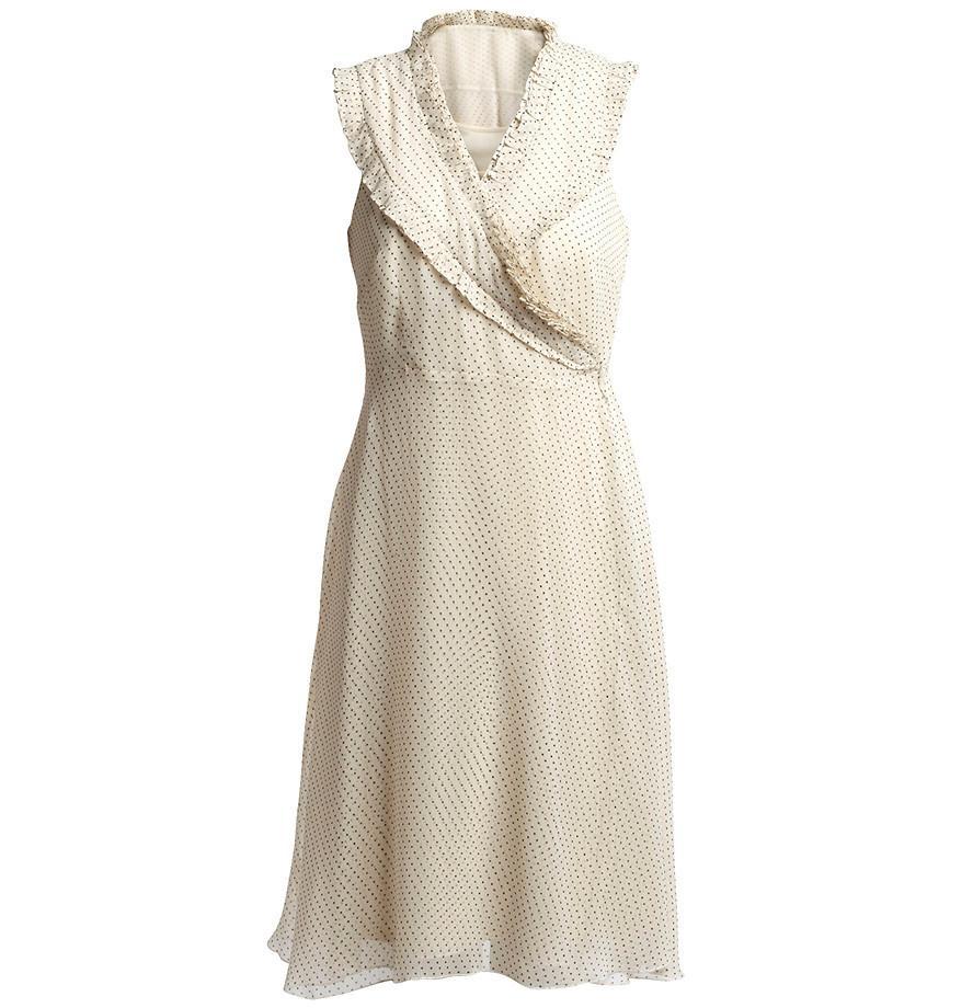 953ac5c726 ecru sukienka Kappahl - kolekcja letnia - Sukienki KappAhl na lato ...