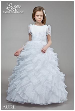 adaca9f275 Sukienki komunijne w stylu małej księżniczki - Uroczystości rodzinne ...