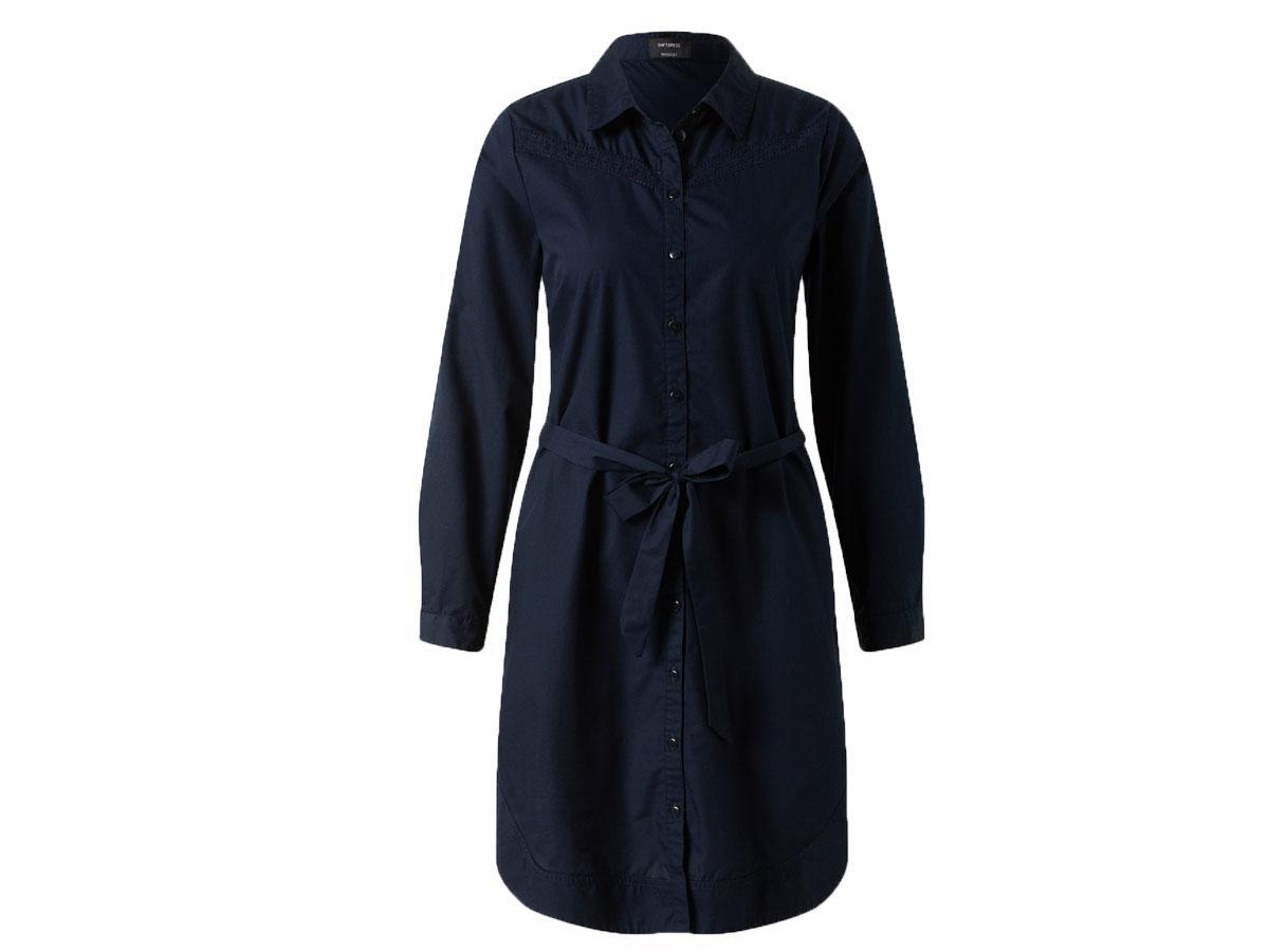 Koszulowa sukienka, C&A, cena ok. 99,90 zł