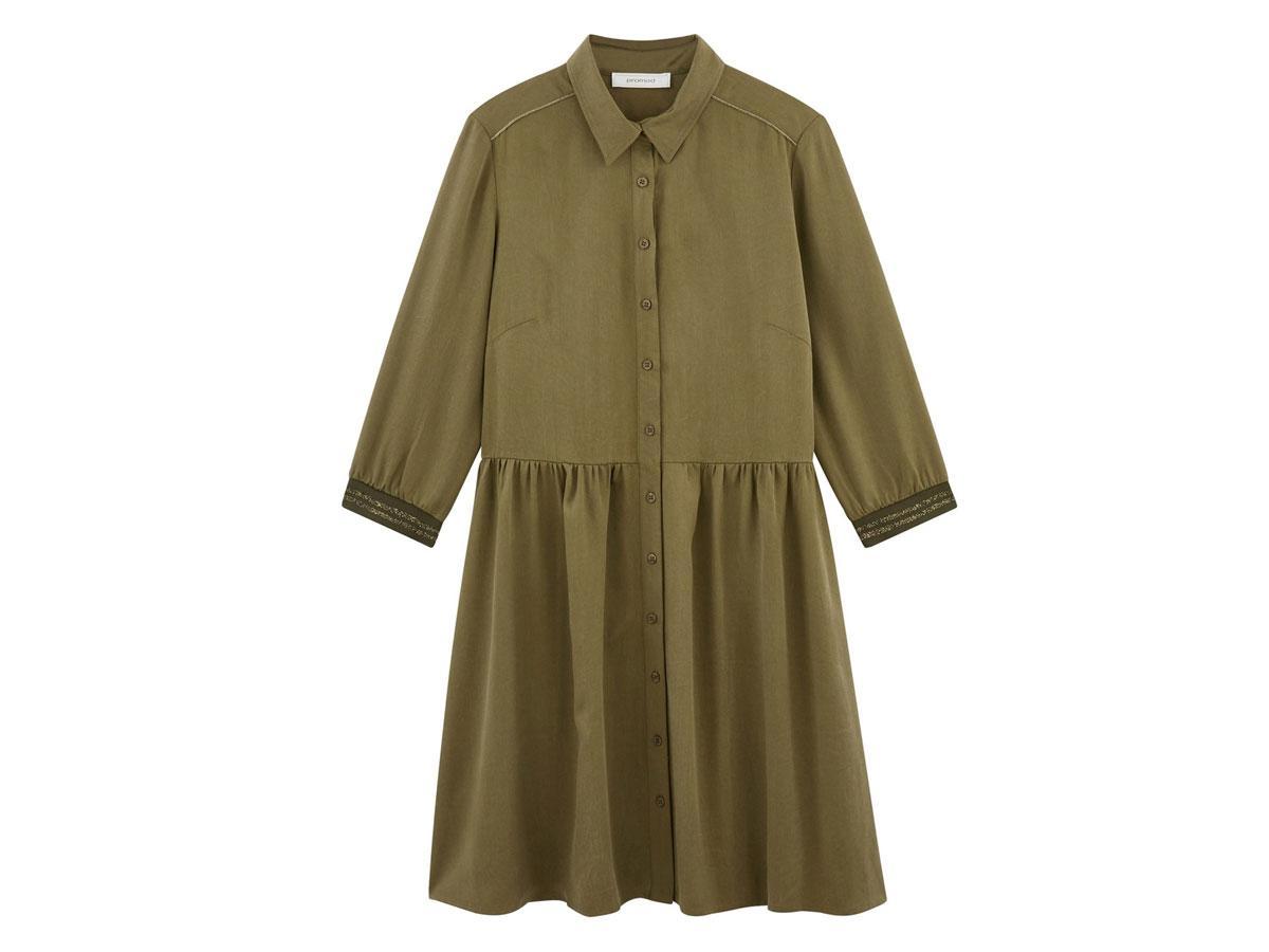 Koszulowa sukienka, Promod, cena ok. 169,90 zł