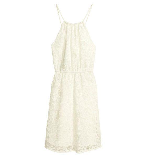 Sukienka na cienkich ramiączkach, H&M, cena