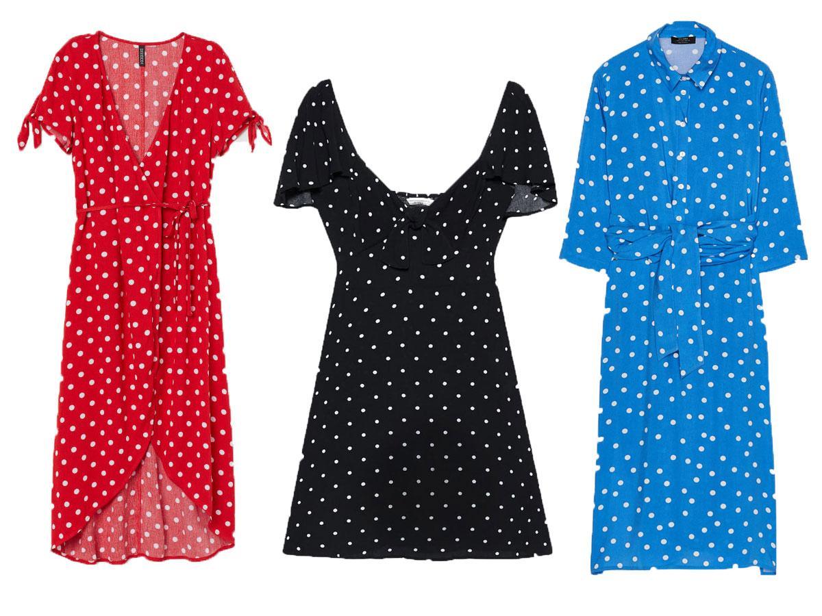 Sukienki na lato 2019: w grochy
