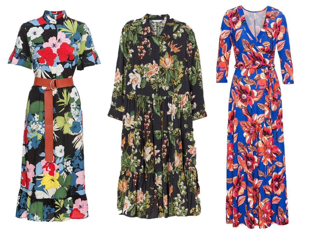 f6f10d5f25 Sukienki na lato 2019 modele w kwiaty