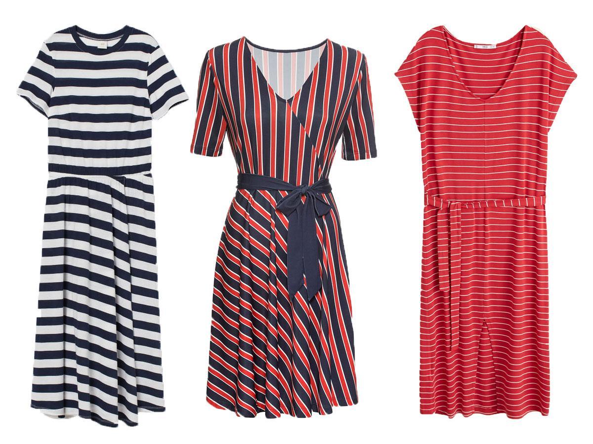 Sukienki na lato 2019 w paski