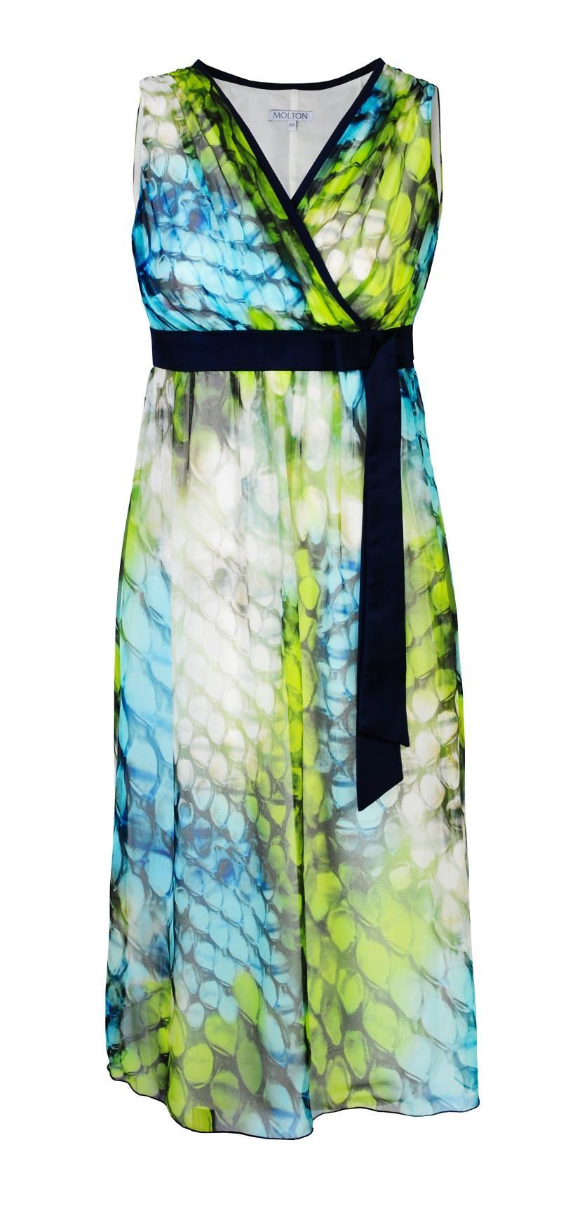 kolorowa sukienka Molton - kolekcja na lato