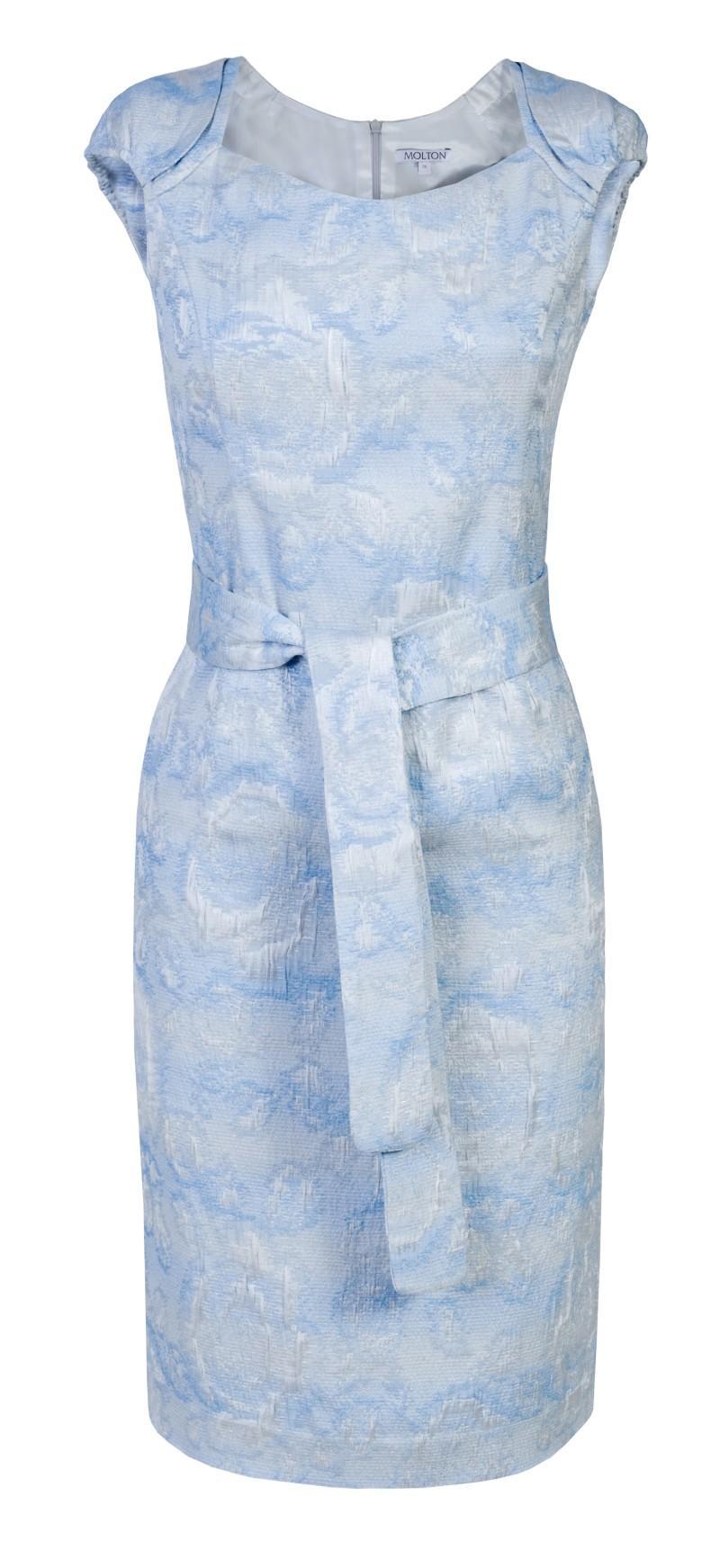 błękitna sukienka Molton - letnia kolekcja