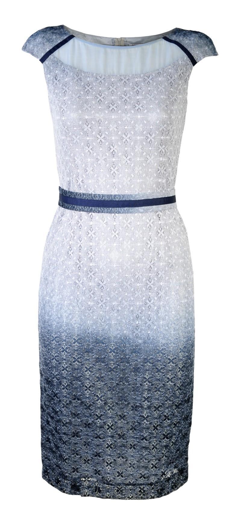błękitna sukienka Molton - wiosna/lato 2011
