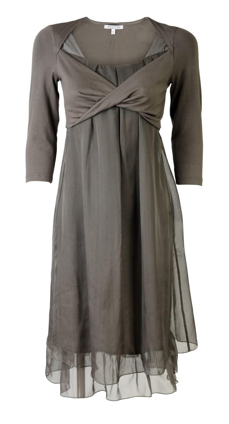 popielata sukienka Molton - kolekcja wiosenna