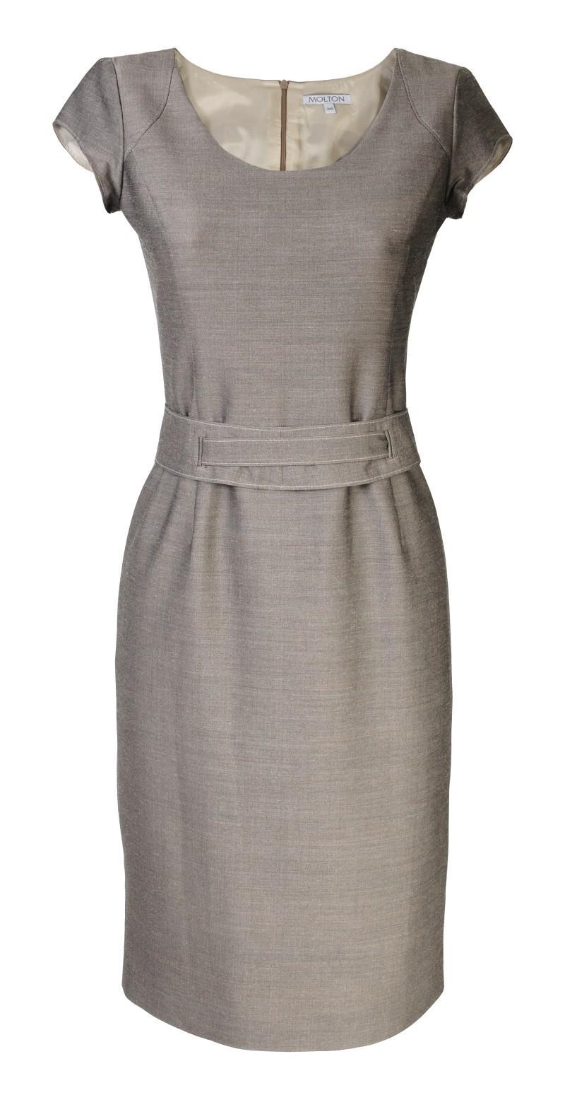 popielata sukienka Molton - wiosenna kolekcja