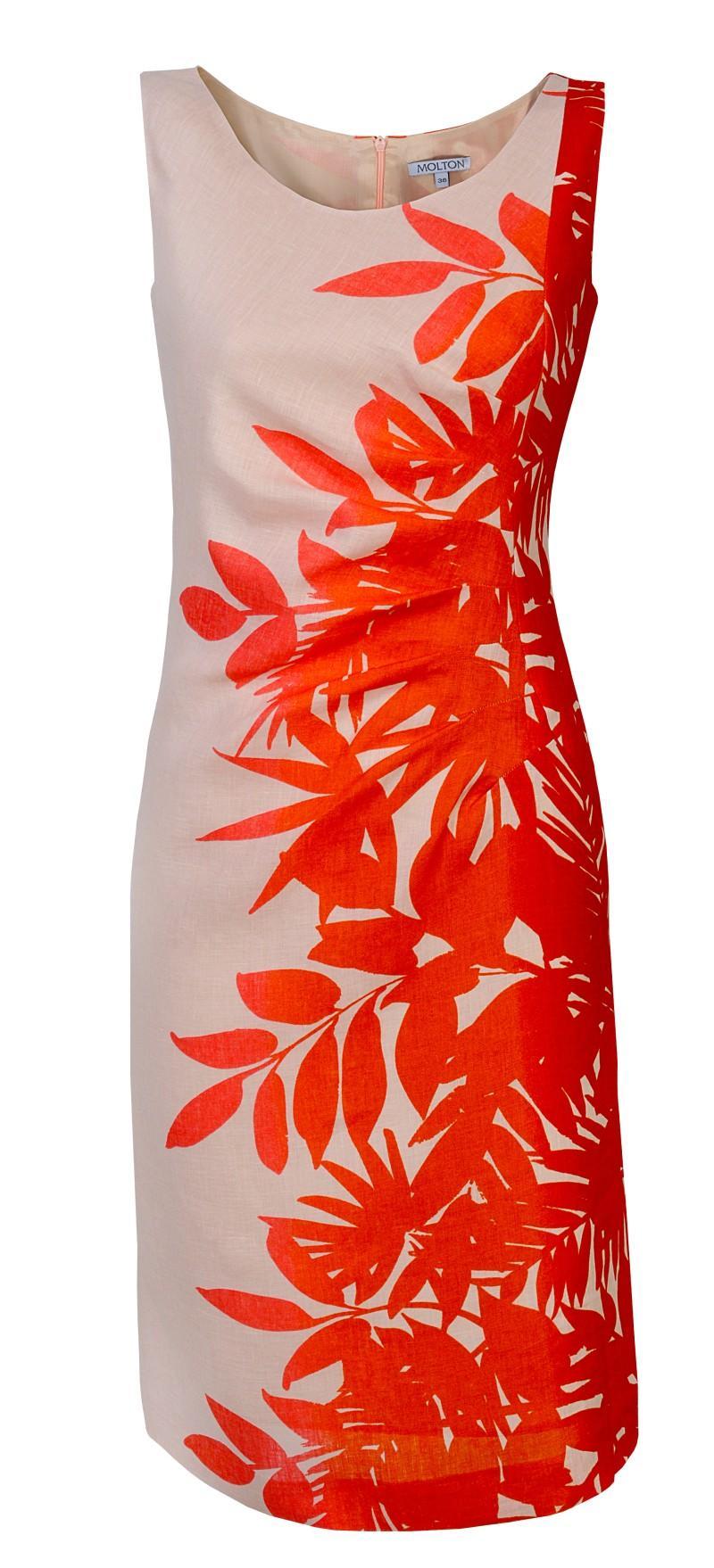 pomarańczowa sukienka Molton - wiosna/lato 2011