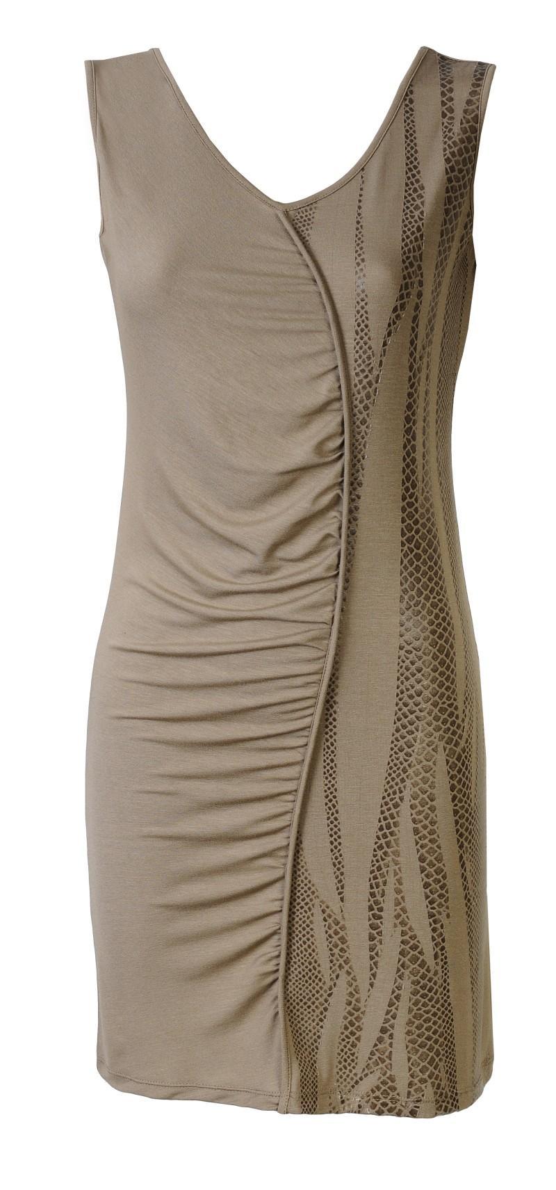 brązowa sukienka Molton - wiosna/lato 2011