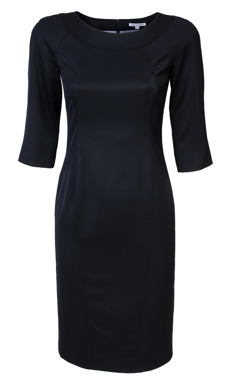 czarna sukienka Molton - kolekcja wiosenna