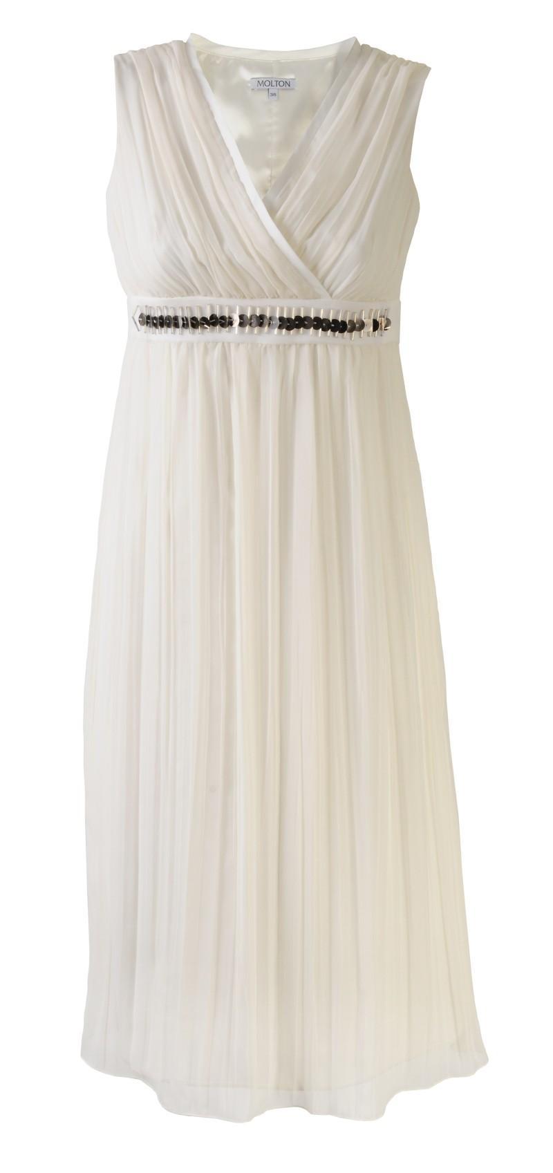 biała sukienka Molton - moda 2011
