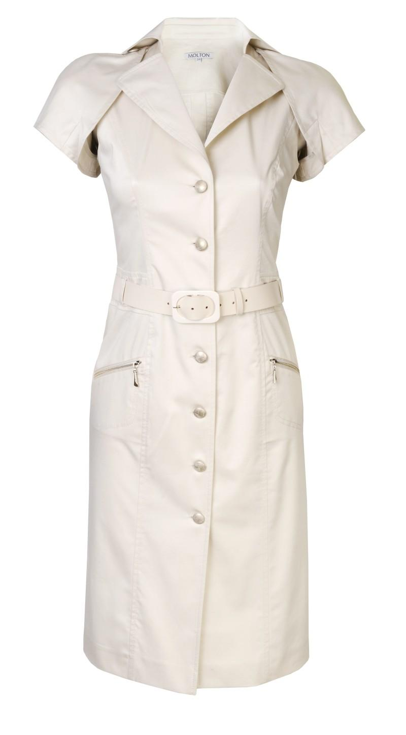 biała sukienka Molton - wiosna/lato 2011