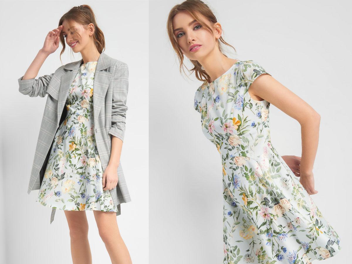 Sukienka w kwiaty, Orsay, cena ok. 159,99 zł