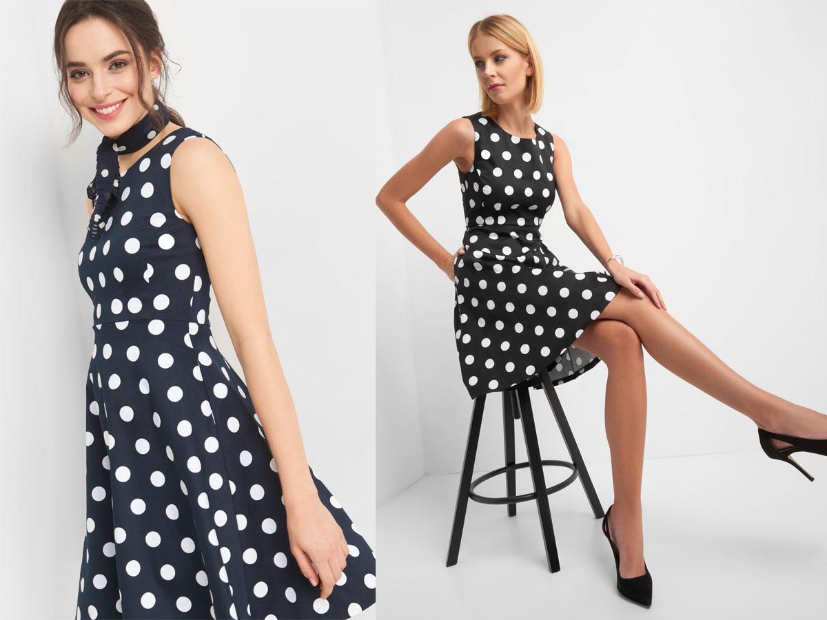 Sukienka w grochy, Orsay, cena ok. 139,99 zł