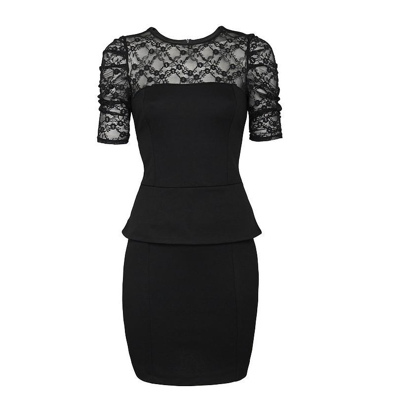 czarna sukienka Pretty Girl