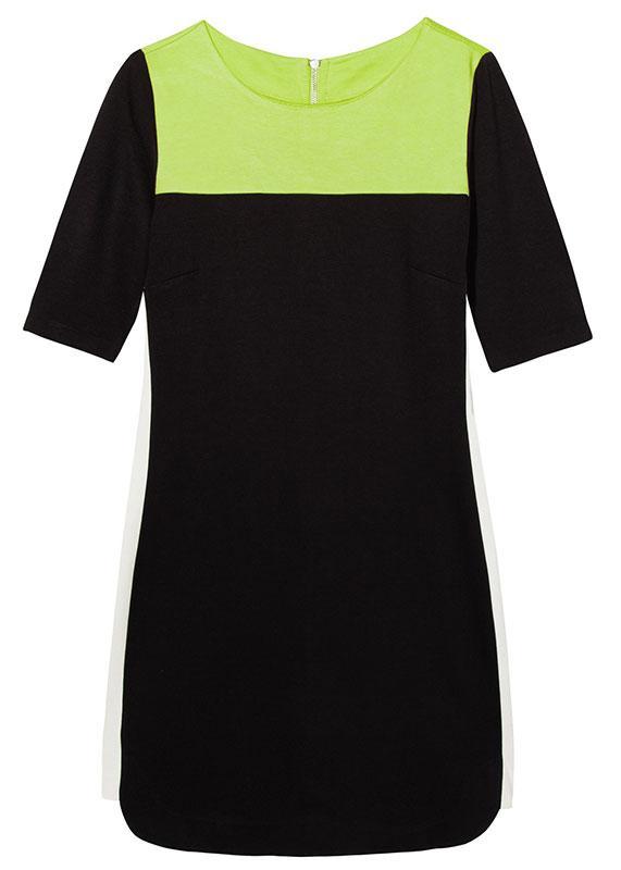 prosta sukienka Reserved w kolorze czarnym - sukienki na wiosnę i lato 2013