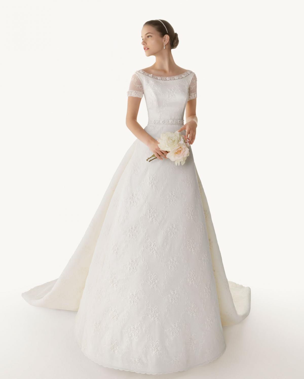 suknia ślubna kolekcja rosa clara 2013