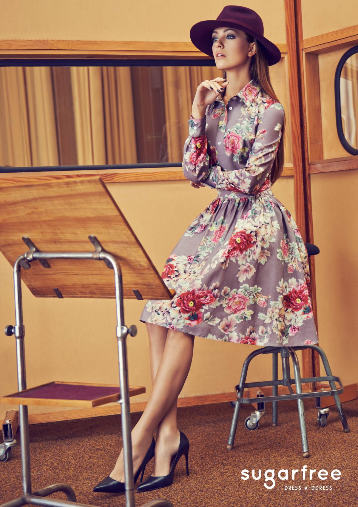 sukienka Sugarfree w kwiaty