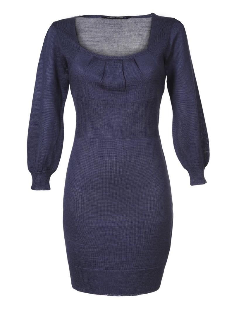niebieska sukienka Top Secret - wiosenna kolekcja
