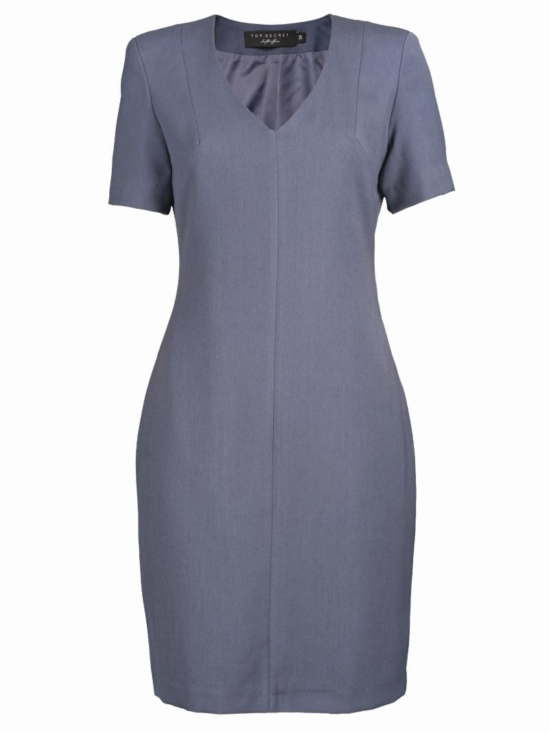 niebieska sukienka Top Secret - wiosna/lato 2011