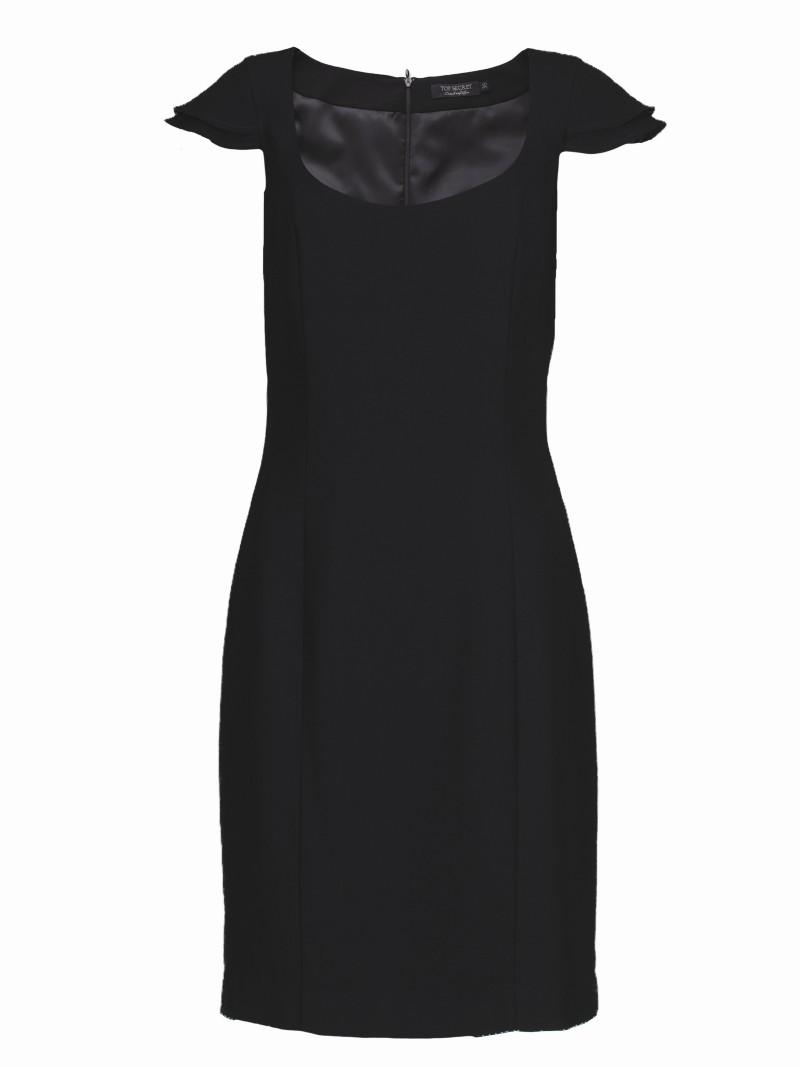 czarna sukienka Top Secret - z kolekcji wiosna-lato 2011