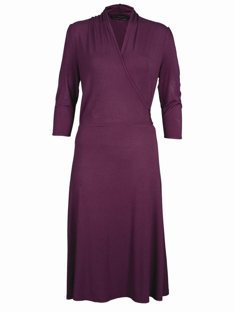 fioletowa sukienka Top Secret - wiosna 2011