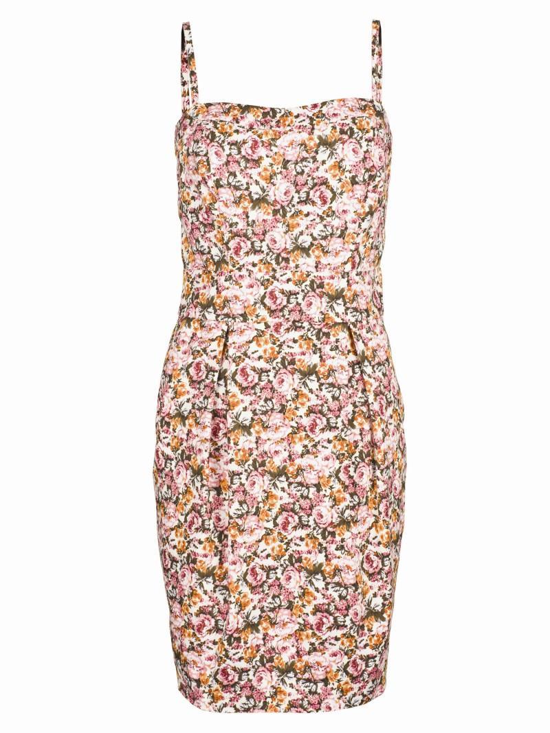 sukienka Top Secret w kwiaty - sezon wiosenno-letni