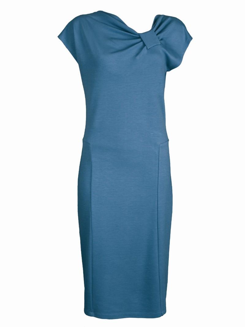 niebieska sukienka Top Secret - moda wiosna/lato