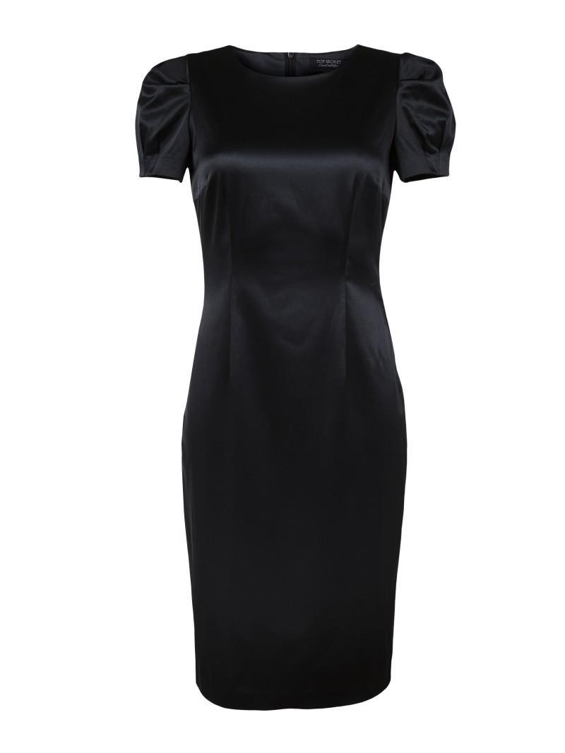 czarna sukienka Top Secret - moda wiosna/lato