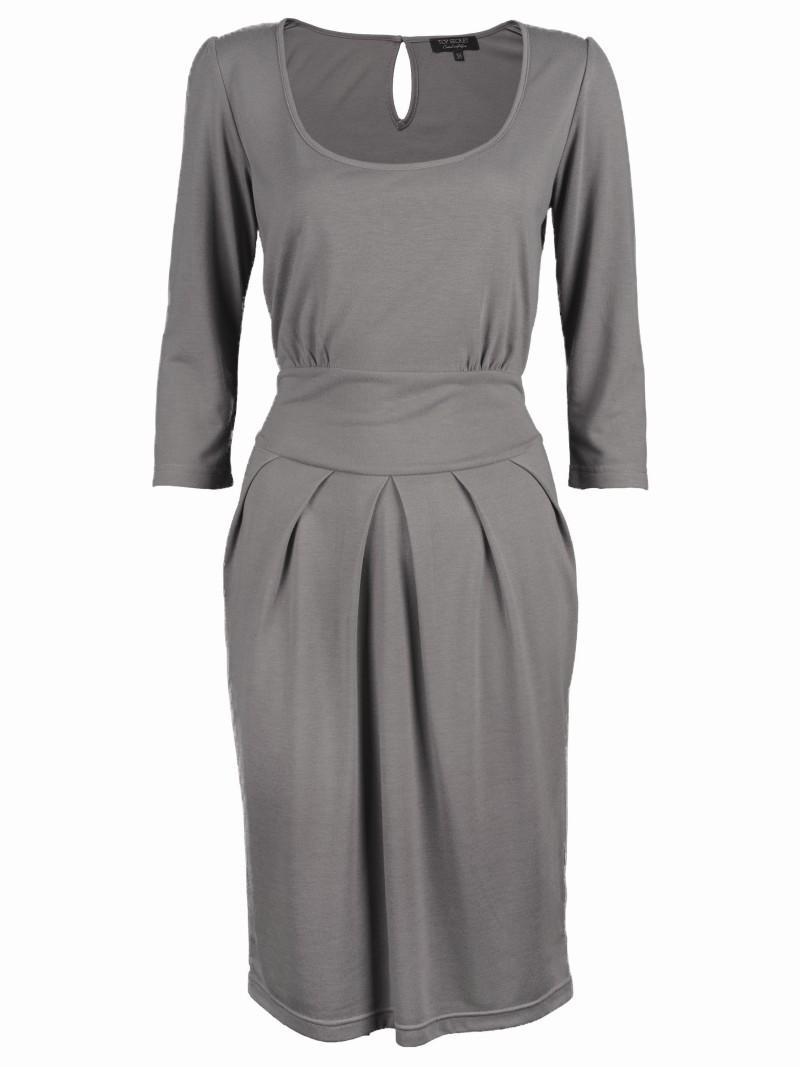 szara sukienka Top Secret - wiosna 2011