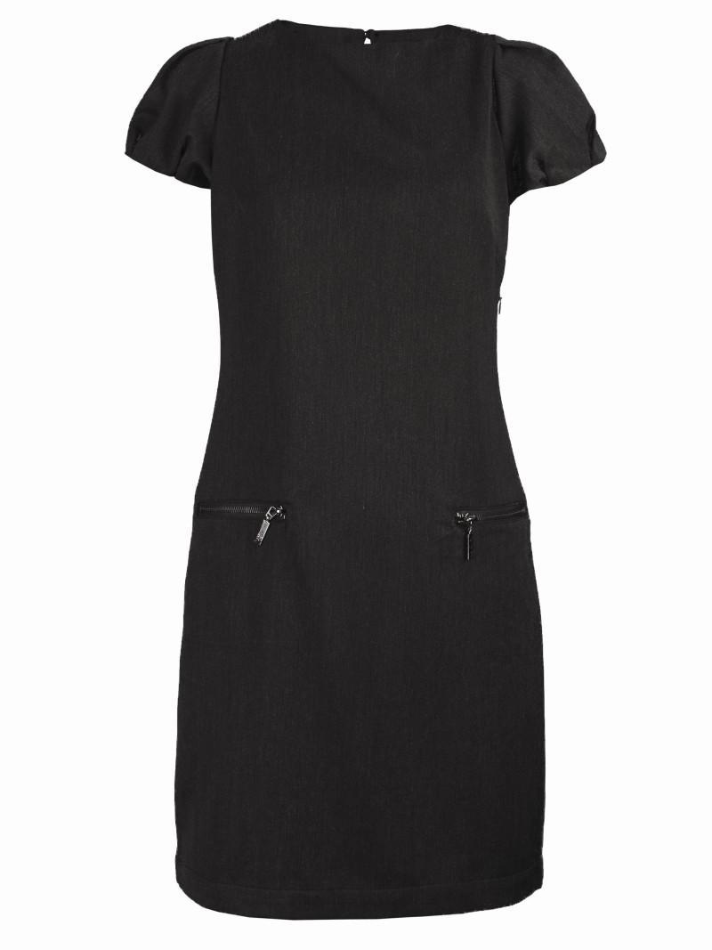czarna sukienka Top Secret - lato 2011
