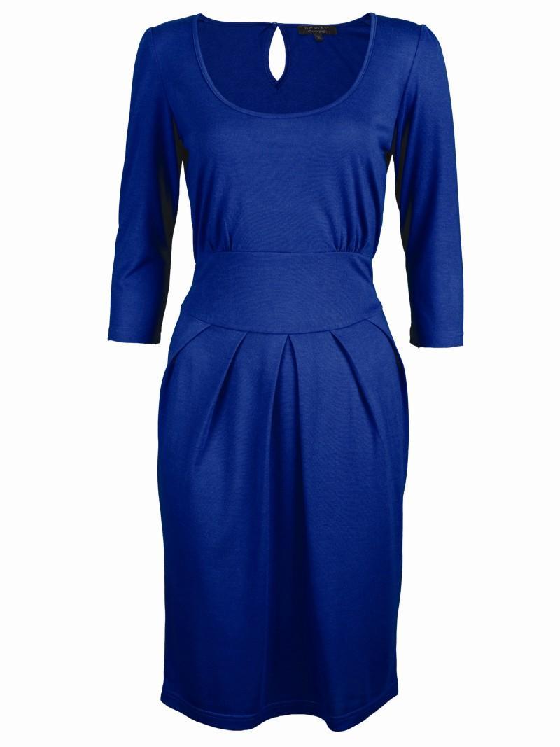 niebieska sukienka Top Secret - trendy wiosna-lato