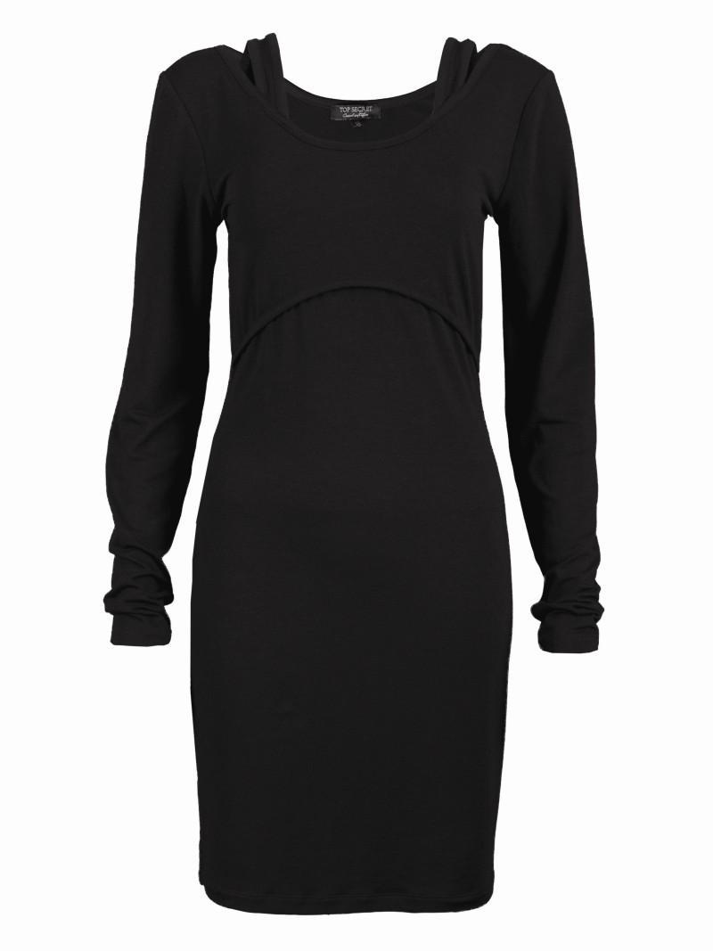 czarna sukienka Top Secret - wiosna-lato 2011