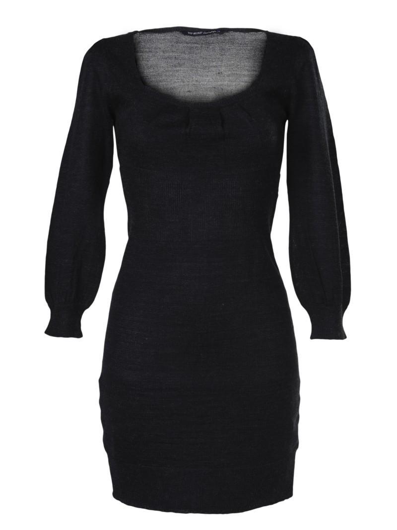 czarna sukienka Top Secret - wiosna 2011