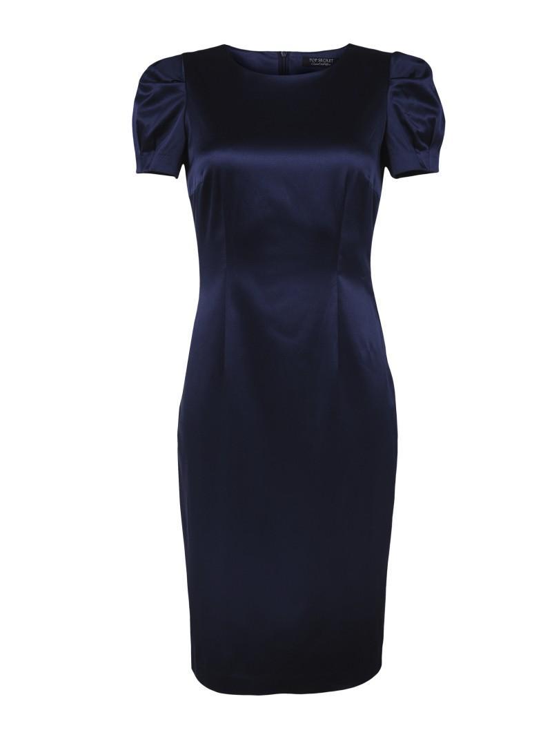 granatowa sukienka Top Secret - wiosna 2011