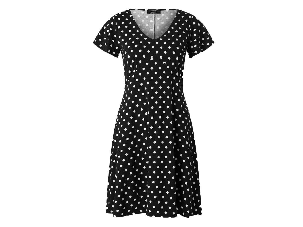 Sukienka w groszki, C&A, cena ok. 59,00 zł