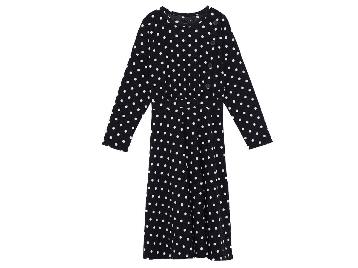 Sukienka w groszki, Zara, cena ok. 99,90 zł